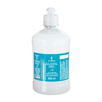 frasco com 500mL de gel de uso dermatológico