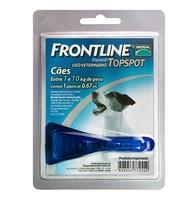 Frontline Topspot para Cães de até 10Kg com 1 pepita 0,67mL