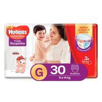 Fralda Roupinha Huggies Supreme Care G, 30 unidades