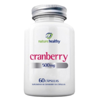 Cranberry Nature Healthy 500mg, frasco, 1 unidade com 60 cápsulas