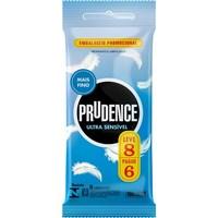 Preservativo Prudence ultrassensível, leve 8 pague 6