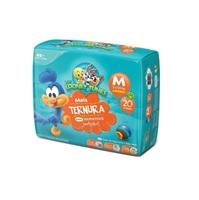 Fralda Baby Looney Tunes M, pacote com 20 unidades