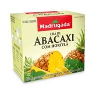 Chá Madrugada abacaxi com hortelã, 6 caixas de 10 sachês cada