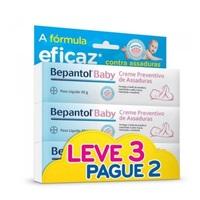 Creme Preventivo de Assaduras Bepantol Baby leve 3 pague 2 com 30g cada