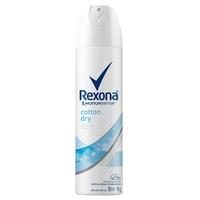 Desodorante Feminino Rexona Motionsense cotton dry, aerosol, 1 unidade com 150mL