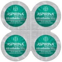 Aspirina MicroAtiva 500mg, blíster com 4 comprimidos revestidos de liberação modificada