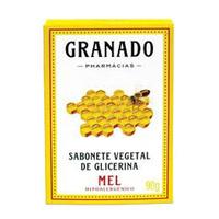 Sabonete Granado Glicerina mel, barra, 1 unidade com 90g