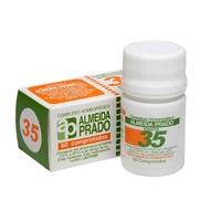 Complexo Homeopático Almeida Prado Nº 35 caixa com 60 comprimidos