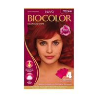 Tintura Creme Biocolor nº 6.6 vermelho intenso
