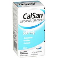 500mg, caixa com 30 comprimidos mastigáveis