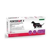Fortekor 5 - 5mg, caixa com 28 comprimidos