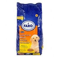 Ração para Cães Faro Filhote carne, 1 unidade com 1Kg