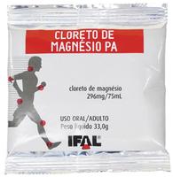 Cloreto de Magnésio P.A Ifal 296mg/75mL, sachê com 33g de pó para solução oral