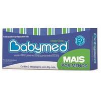 Babymed 1000UI/g + 400UI/g + 100mg, bisnaga com 45g de pomada de uso dermatológico, 3 unidades