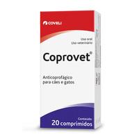 Coprovet caixa com 20 comprimidos de 500mg