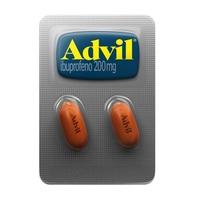 Advil 200mg blister com 2 comprimidos revestidos