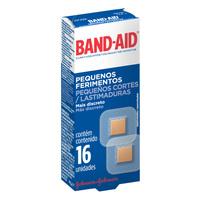 Curativos Band-Aid Pequenos Ferimentos 16 unidades