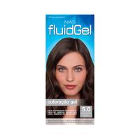 Tintura Biocolor Fluidgel nº 5.0 castanho claro