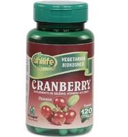 Cranberry Unilife 500mg, frasco com 120 cápsulas