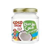 Óleo de Coco Show extravirgem, pote com 200mL