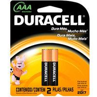 Pilha Alcalina Duracell AAA básica com 2 unidades
