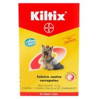 Coleira Kiltix Contra Carrapatos para Cães P, 1 unidade