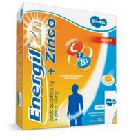 Energil Zinco 1g + 10mg tubo com 30 comprimidos efervescentes