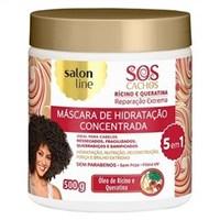 Máscara de Hidratação Salon Line SOS Cachos Reparação Extrema Rícino e Queratina 500mL
