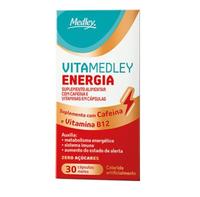 VitaMedley Energia caixa com 30 cápsulas moles