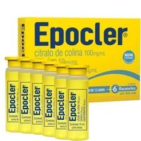 100mg/mL + 50mg/mL + 10mg/mL, caixa com 6 flaconetes com 10mL de solução de uso oral