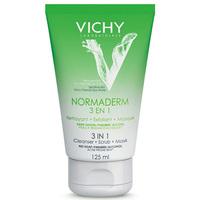 Limpeza 3 em 1 Vichy Normaderm - gel, 125mL