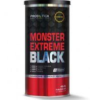 Monster Extreme Black Probiótica 44 packs com 11 cápsulas cada