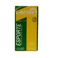 Lavitan Esporte caixa com 60 comprimidos