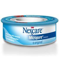 Esparadrapo Nexcare Micropore branco, 12mm x 4,5m
