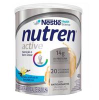 Suplemento Alimentar Nutren Active baunilha, lata, 1 unidade com 400g