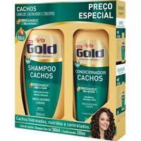 Kit Niely Gold Cachos Shampoo + Condicionador
