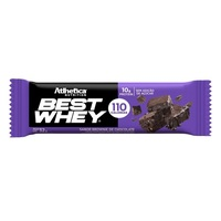 Barra Atlhetica Best Whey Bar cookies cream, 1 unidade com 32g