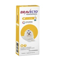 Antipulgas para Cães Bravecto 2Kg até 4,5Kg, 112,5mg, pipeta com 0,4mL