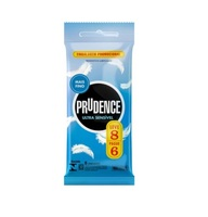 Preservativo Prudence ultrassensível, extragrande, leve 8 pague 6