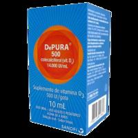 Depura Solução Oral 14000UI/mL, caixa com 1 frasco gotejador com 10mL de solução de uso oral