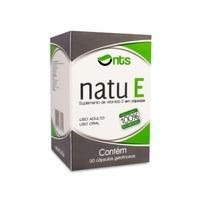 Natu E frasco com 30 cápsulas gelatinosas