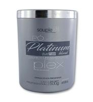 Pó Descolorante SoupleLiss Platinum blond plex com 500g