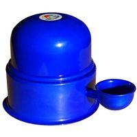 Bebedouro para Pet Vida Mansa Tradicional azul cobalto com capacidade de 0,7L