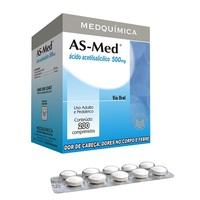 AS-Med 100mg, blíster com 20 comprimidos, infantil
