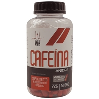 Cafeína Anidra Health Labs 420mg, com 120 cápsulas