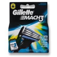 Carga Gillette Mach3 3 unidades