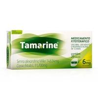 Tamarine 14,634mg + 11,700mg, caixa com 20 cápsulas