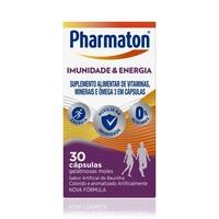 Pharmaton Imunidade e Energia caixa com 30 cápsulas