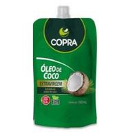 Óleo de Coco Copra extravirgem, sachê, 100mL