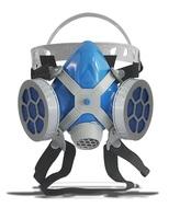Respirador Semi Facial Alltec Mastt 2402 PO duas vias, tamanho único